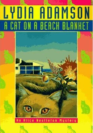 A Cat on a Beach Blanket
