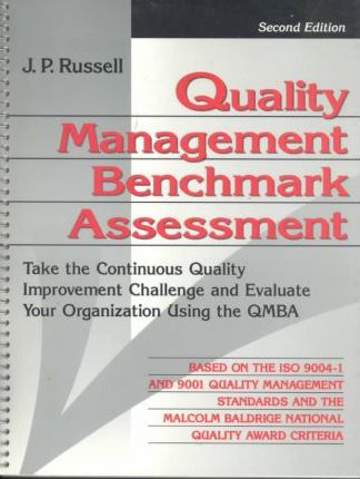 Quality Management Benchmark Assessment
