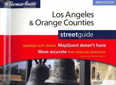 Rand McNally Los Angeles & Orange Counties Street Guide