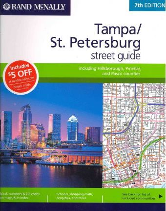 Rand McNally Tampa/St. Petersburg Street Guide