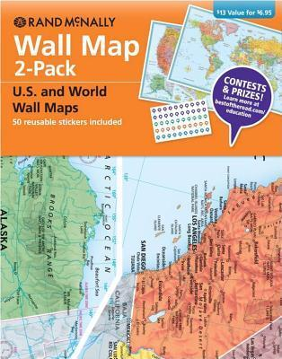 Wall Map 2-Pack