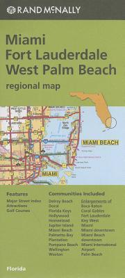 Rand McNally: Miami/Fort Lauderdale/West Palm Beach Regional Map