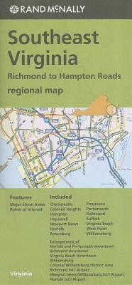 Rand McNally Southeast Virginia Regional Map
