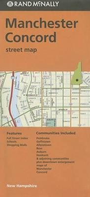 Rand McNally Manchester/Concord, New Hampshire Street Map