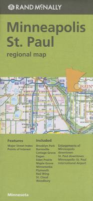 Rand McNally Minneapolis/St. Paul, Minnesota Regional Map