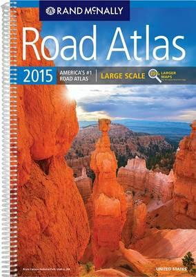 2015 Large Scale Road Atlas USA