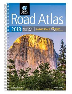 2018 Rand McNally Large Scale Road Atlas: Lsra