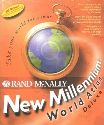 New Millennium World Atlas Deluxe 1998: Windows