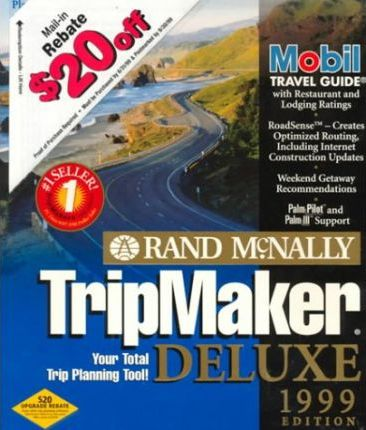 Us Tripmaker Deluxe: 1999 Windows CD-Rom