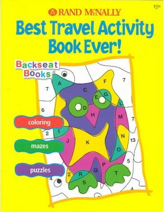 Best Travel Activity Book Ever!