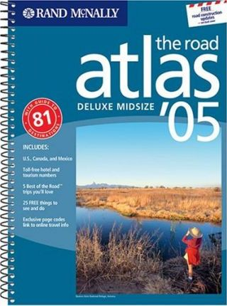 Road Atlas United States, Canada and Mexico