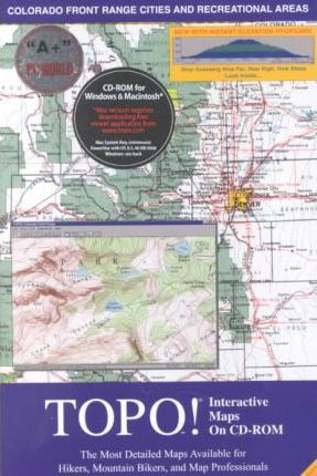 Topo! Interactive Maps on Cd-Rom