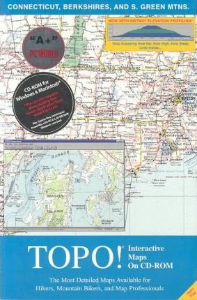 National Geographic Topographical Connecticut/Berkshires