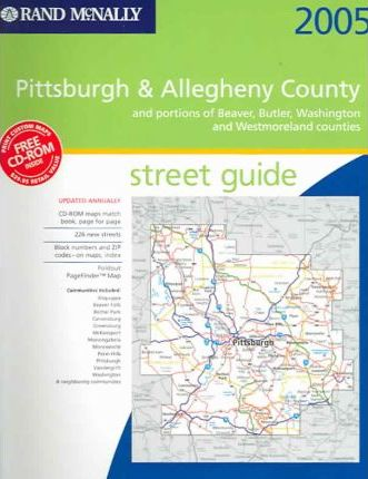 Street Guide-Pittsburgh & Allegheny