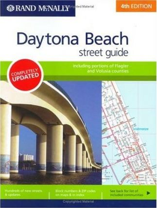 Rand McNally Daytona Beach Street Guide