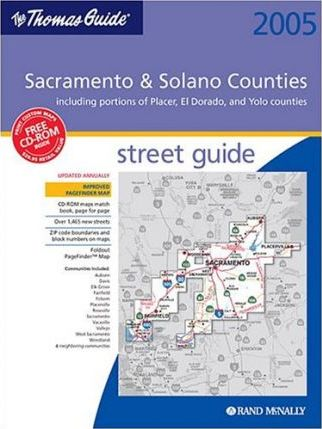 Thomas Guide Sacramento & Solano Counties