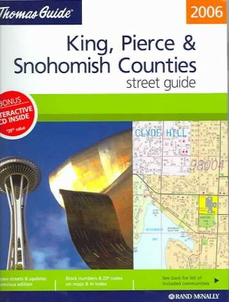 The Thomas Guide King, Pierce & Snohomish Counties Street Guide
