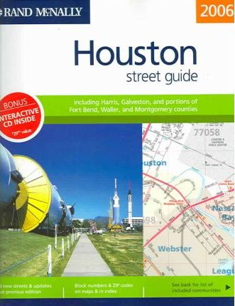 Rand McNally Streetfinder Houston TX