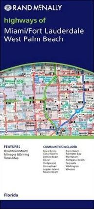 Rand McNally Highways of Miami/Fort Lauderdale/West Palm Beach