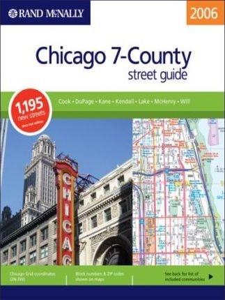 Rand McNally Street Guide Chicago 7-County
