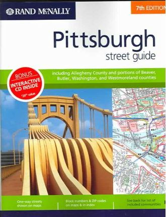 Rand McNally Pittsburgh Street Guide