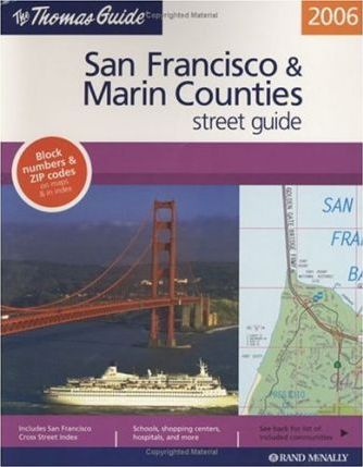 San Francisco & Marin Counties Street Guide