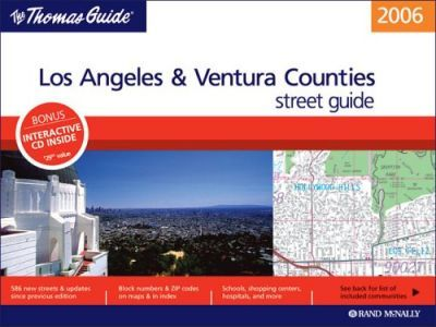 The Thomas Guide Los Angeles & Ventura Counties Street Guide