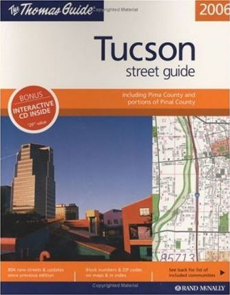 Rand McNally Tucson Street Guide