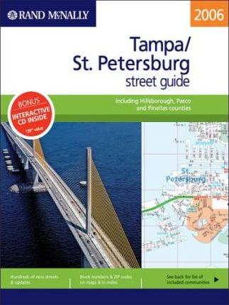 Rand McNally Street Guide Tampa/St. Petersburg