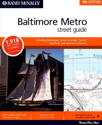 Rand McNally Baltimore Metro Street Guide