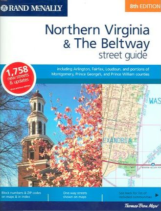 Rand McNally Northern Virginia & the Beltway Street Guide