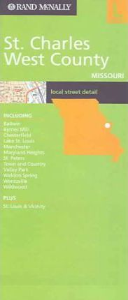 Rand McNally St. Charles West County Missouri: Local