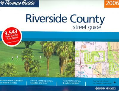Thomas Guide Riverside County