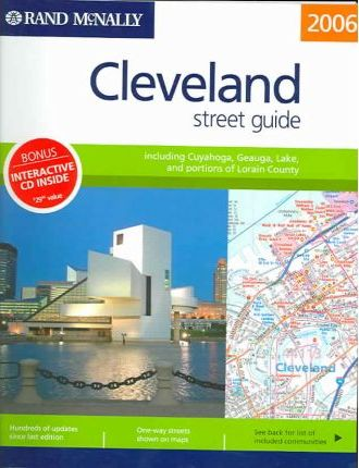 Rand McNally Streetfinder Cleveland Oh