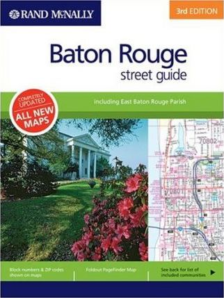 Rand Mcnally Baton Rouge Street Guide