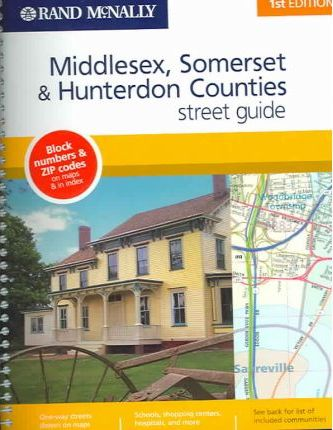 Middlesex, Somerset & Hunterdon Counties 1st Ed