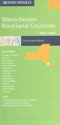 Rand McNally Westchester Rockland Counties New York: Local