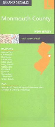 Rand McNally Monmouth County New Jersey: Local
