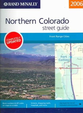 Rand McNally Street Guide Northern Colorado