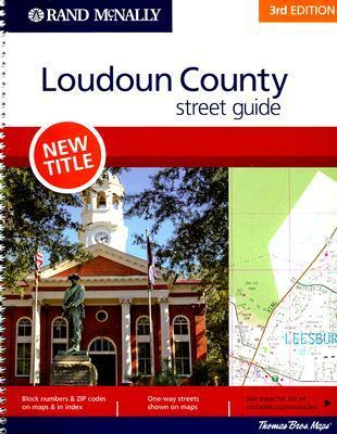 Rand McNally Loudoun County Street Guide