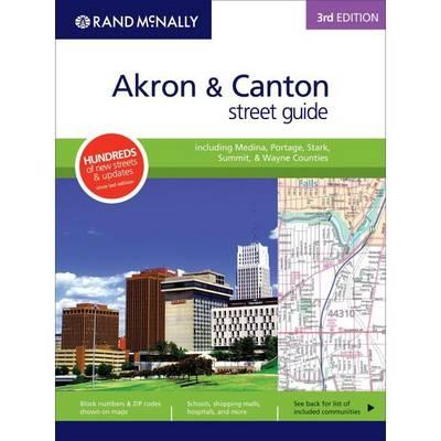 Street Guide 3ed Akron / Canton Oh