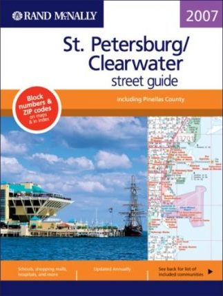Rand McNally St. Petersburg/Clearwater Street Guide