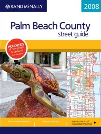 Rand McNally Palm Beach County Street Guide