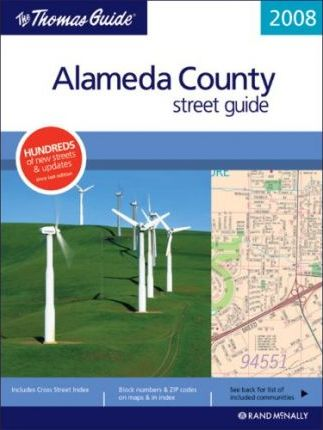 The Thomas Guide Alameda County Street Guide