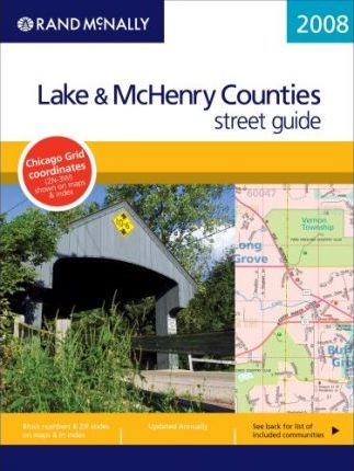 Rand McNally Lake & McHenry Counties Street Guide