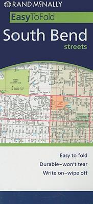 Rand McNally Easy to Fold! South Bend Streets