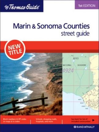 Thomas Guide Marin/Sonoma Counties