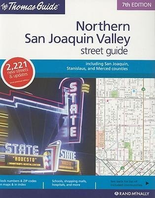 The Thomas Guide San Joaquin County Street Guide