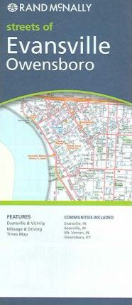 Rand McNally Streets of Evansville/Owensboro