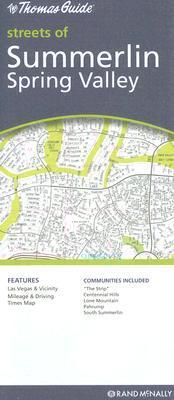 The Thomas Guide Streets of Summerlin Spring Valley